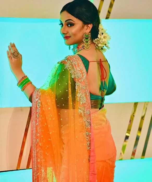 Riya Dey Sharee pic