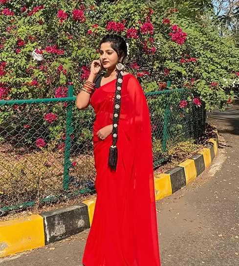Jhilik Bhattacharjee Sharee photos