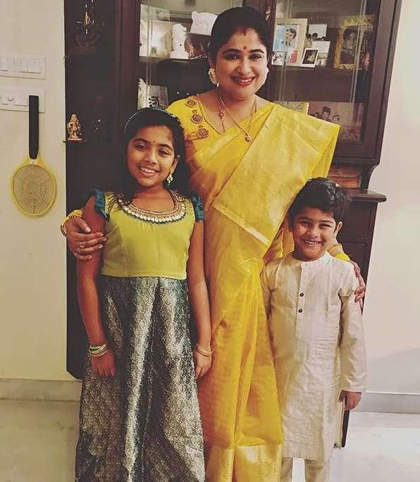Preethi Sanjeev family photos