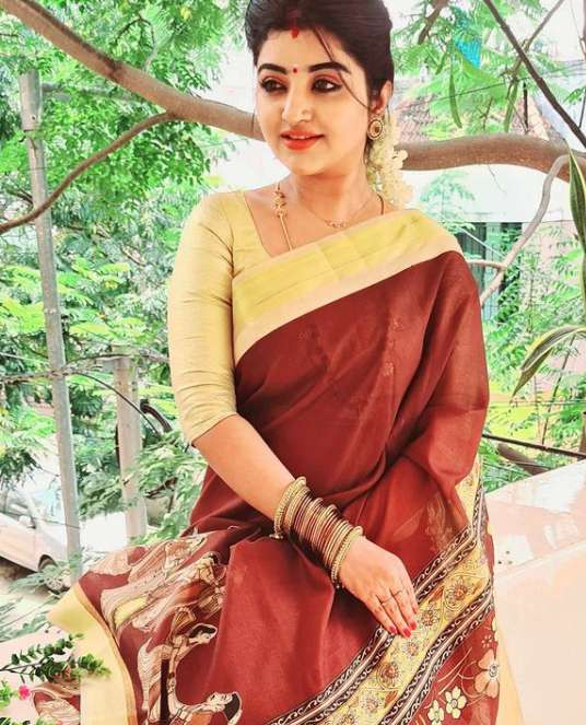 Mahalakshmi Tamil serial actress image