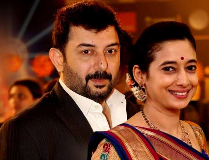 Arvind Swamy wife Aparna Mukerjee wiki Biography Profile Family