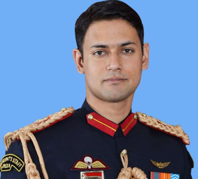 Major Gaurav Chaudhary wiki Biography Family Education